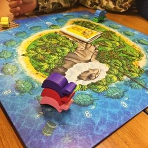 ウミガメの島、ボードゲーム