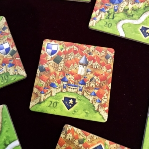 カルカソンヌ20周年記念版、20周年記念版拡張タイル、Carcassonne: 20th Anniversary Edition